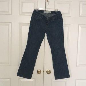 Anne Taylor Loft Curvy Boot Cut Jeans